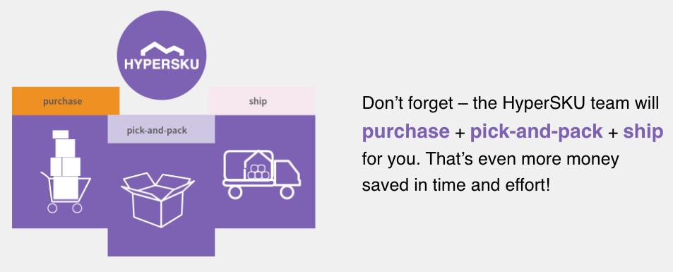 Hypersku Shipment Process