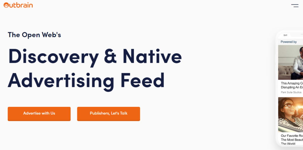 Outbrain Native Ad Network Review