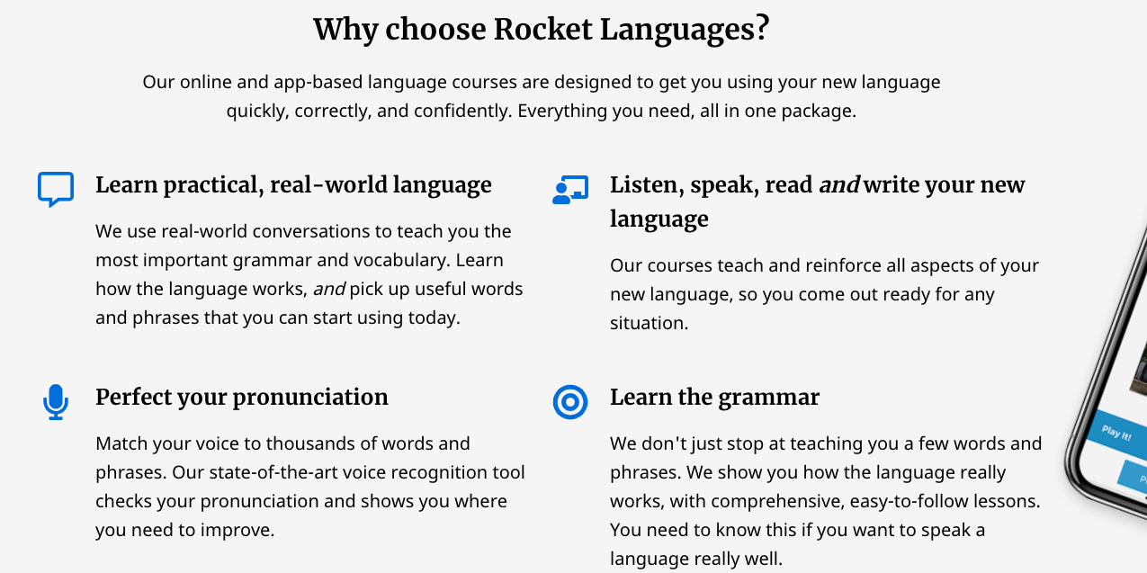 Why Rocket languages Spanish is best?