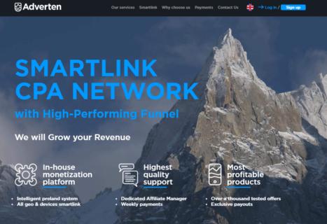 Adverten CPA Ad Network