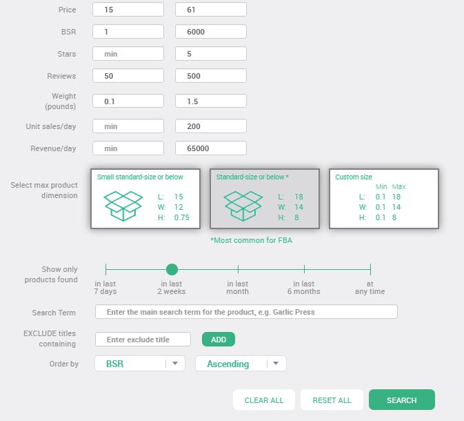 AmazeOwl Product Database