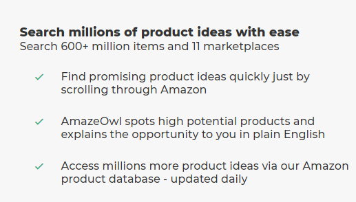AmazeOwl Product Research