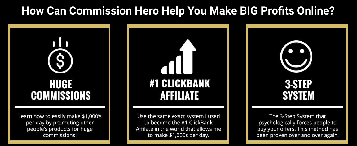 Commission Hero Help To Earn Online