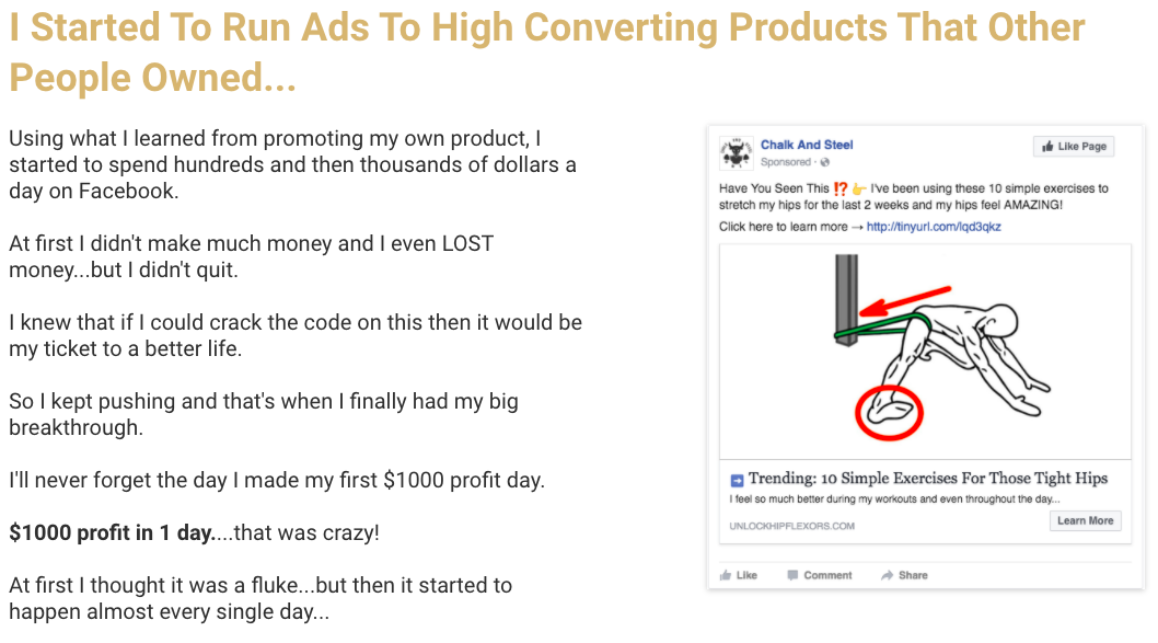 Commission Hero Learn Running Converting Ads