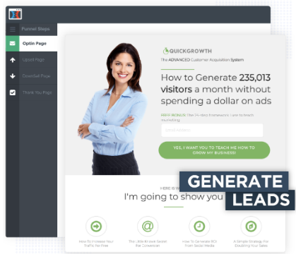 Generate Leads With ClickFunnels