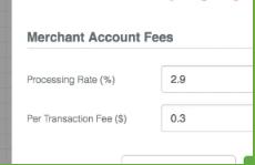 Geru Merchant Account Settings