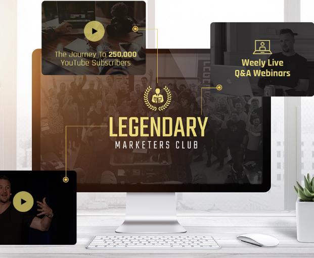 Legendary Marketers Club