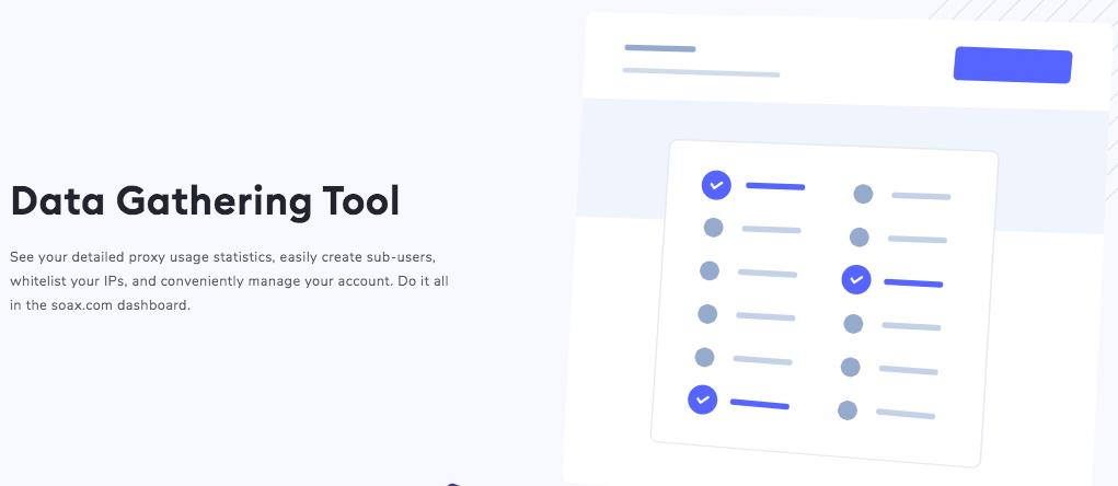 Soax Data Gathering Tool