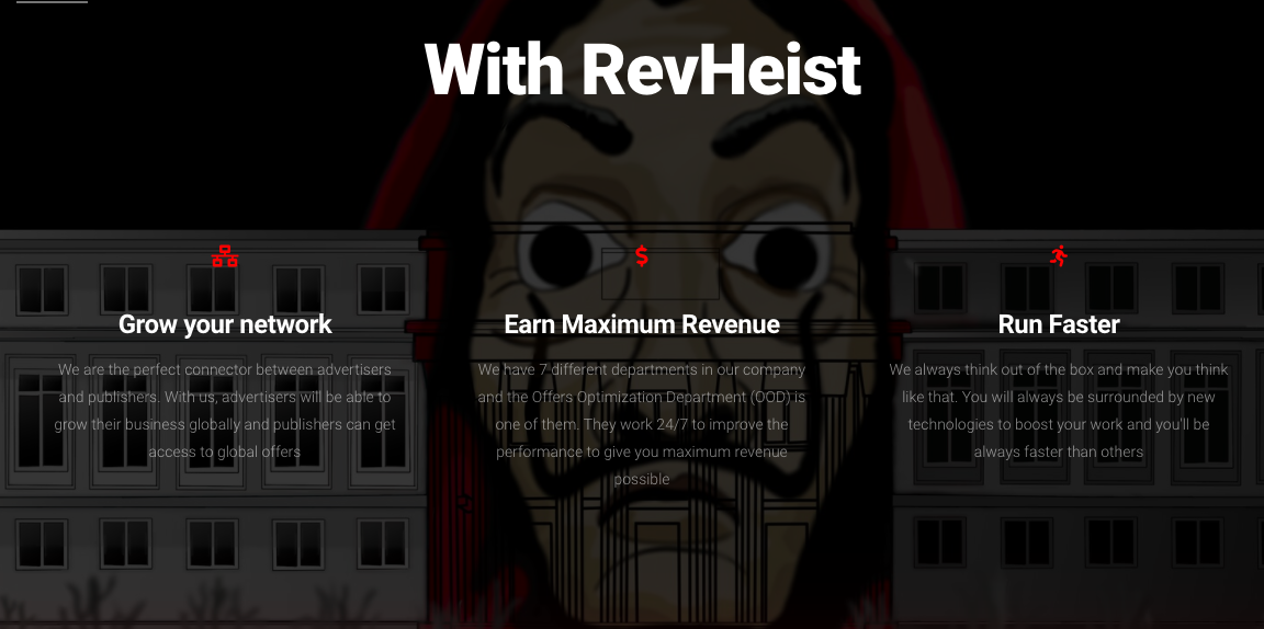 RevHeist Earn Money