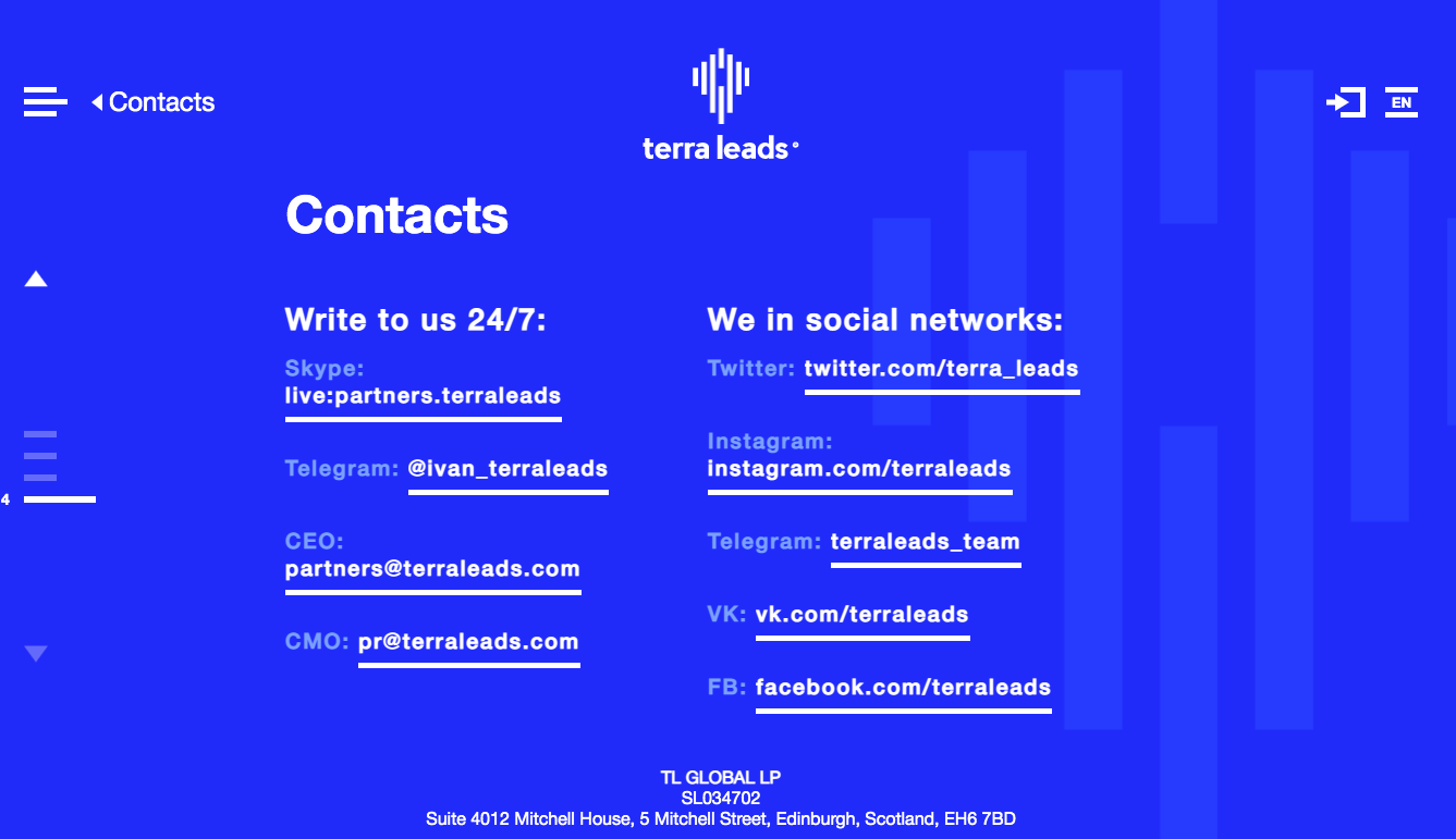 TerraLeads Contact