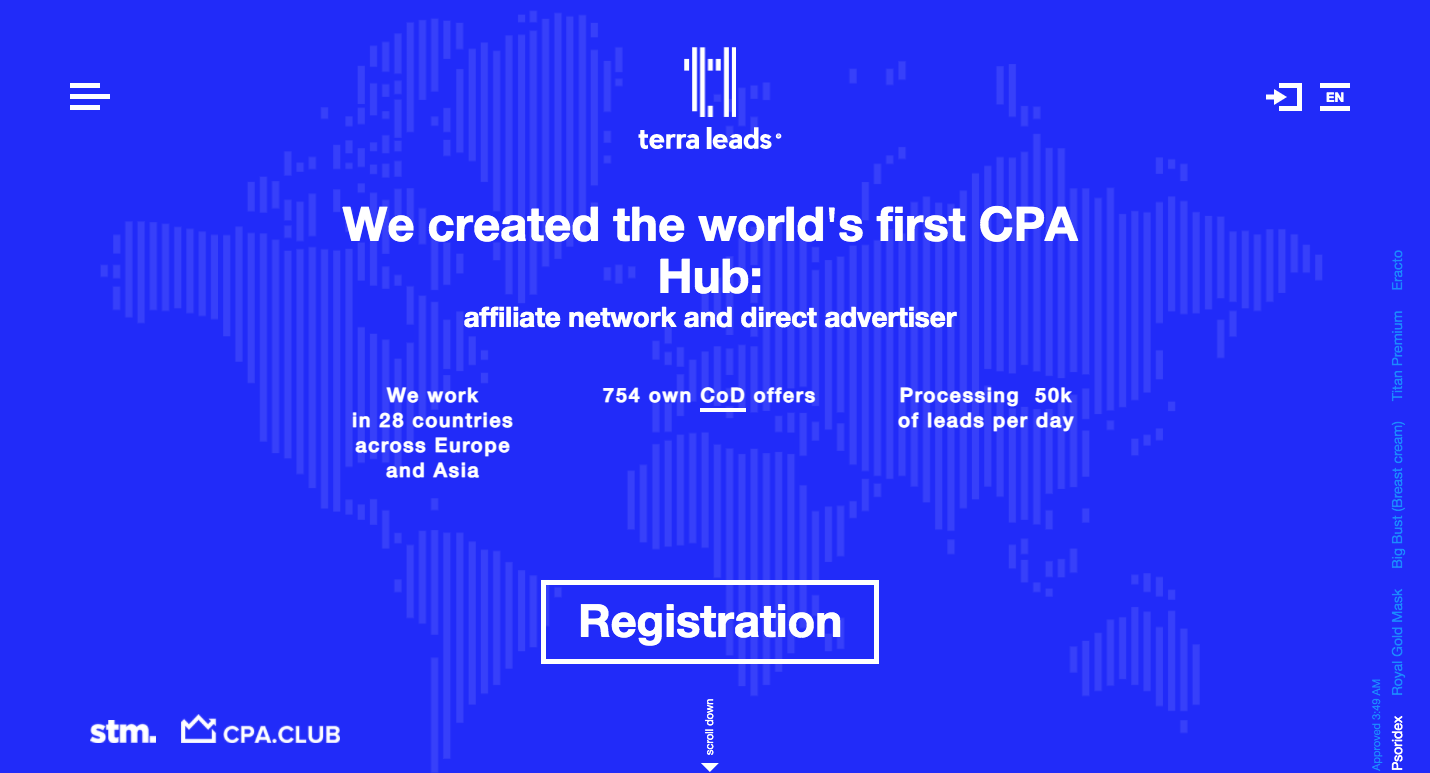 TerraLeads Review: First CPA Hub