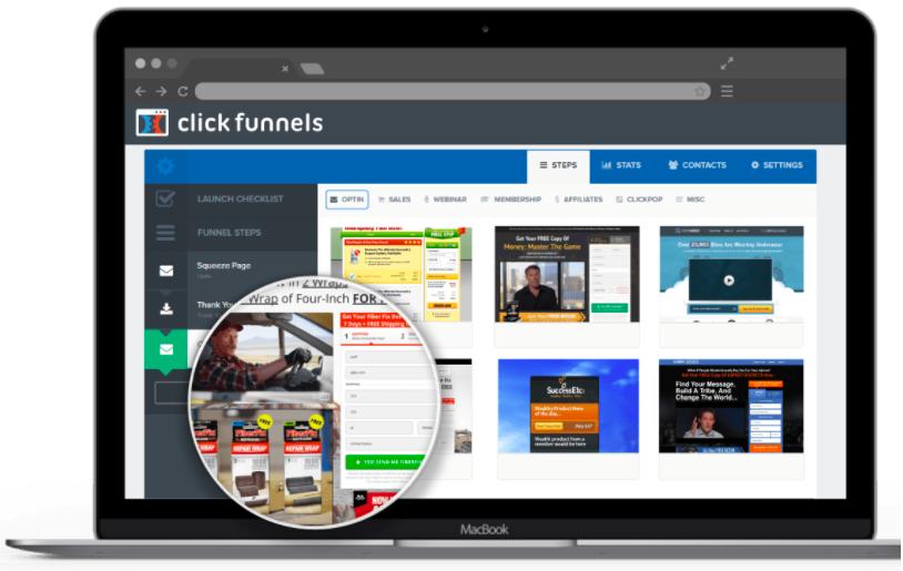 ClickFunnels Increase sales