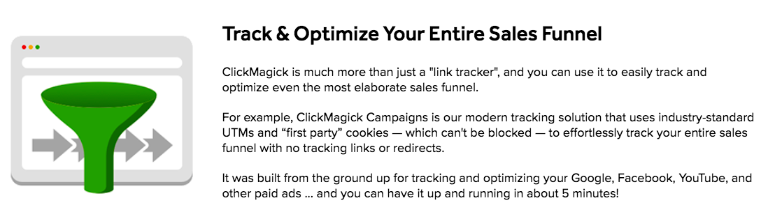 ClickMagick Sales Funnel
