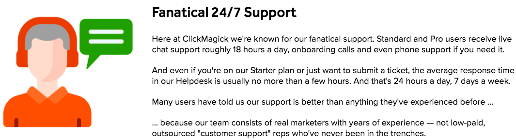 ClickMagick Support