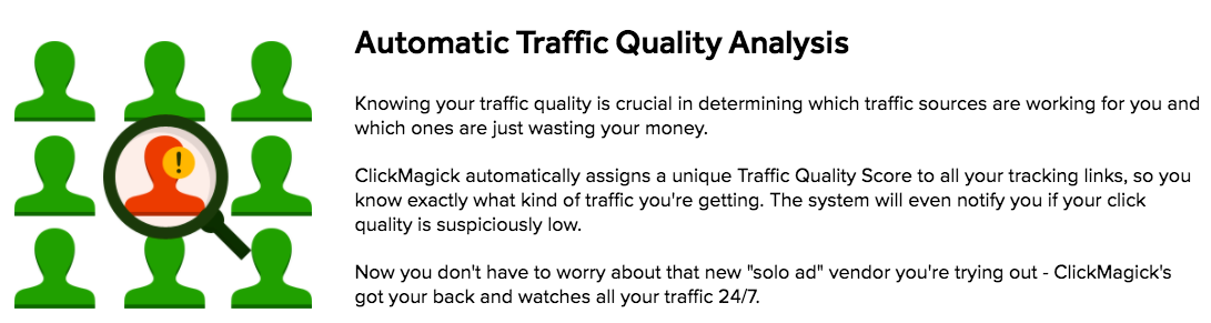 ClickMagick Traffic Quality Analysis