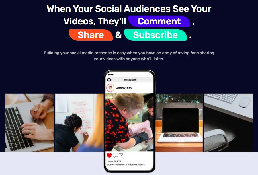 Create Videos & Share on Social Media