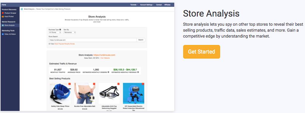 Niche Scrapper Store Analysis