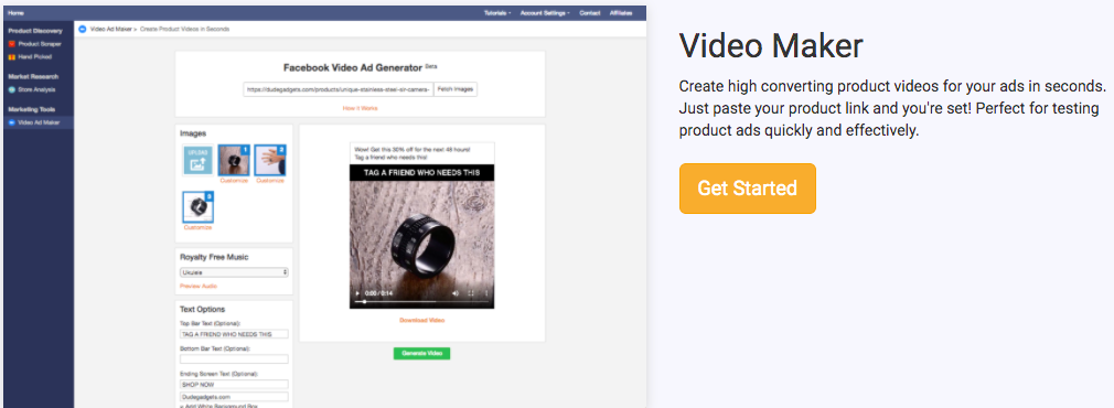 Niche Scrapper Video Maker