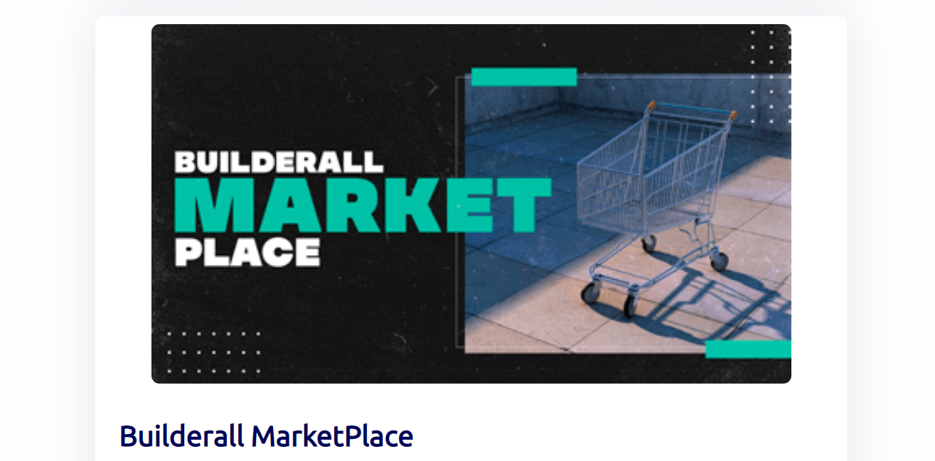 Builderall Marketplace