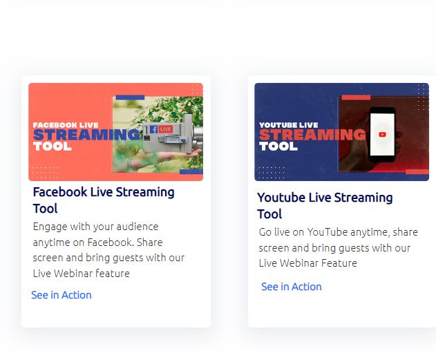 Builderall Social Media Live Streaming