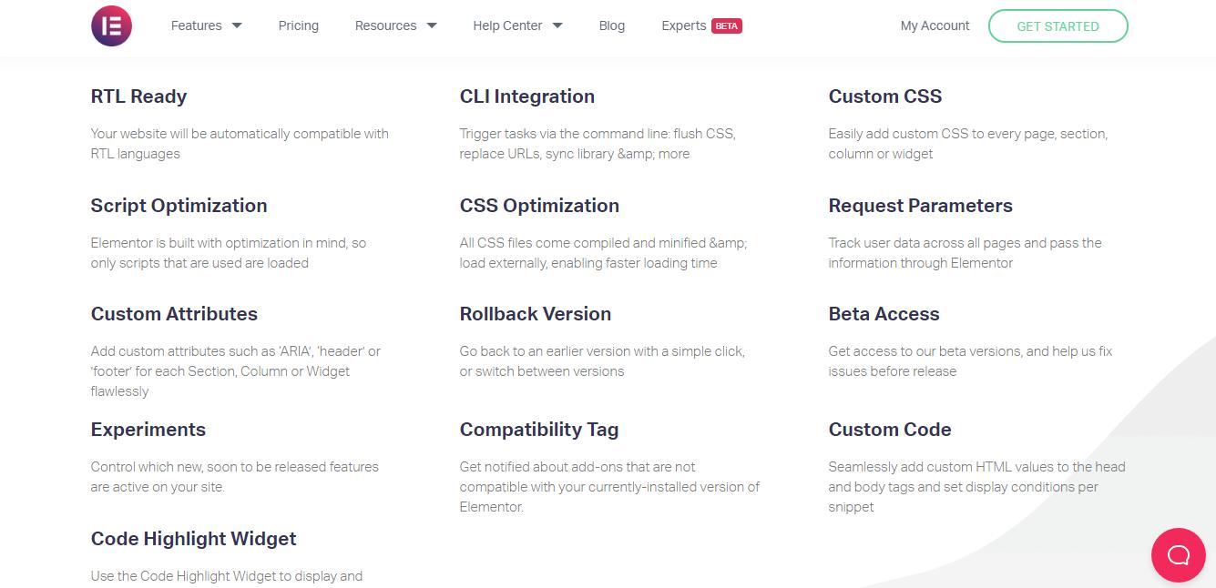 Elementor CSS optimization