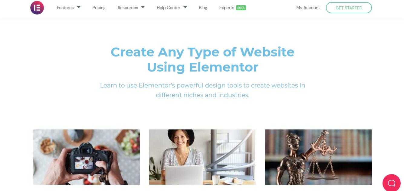 Elementor Website Tutorials