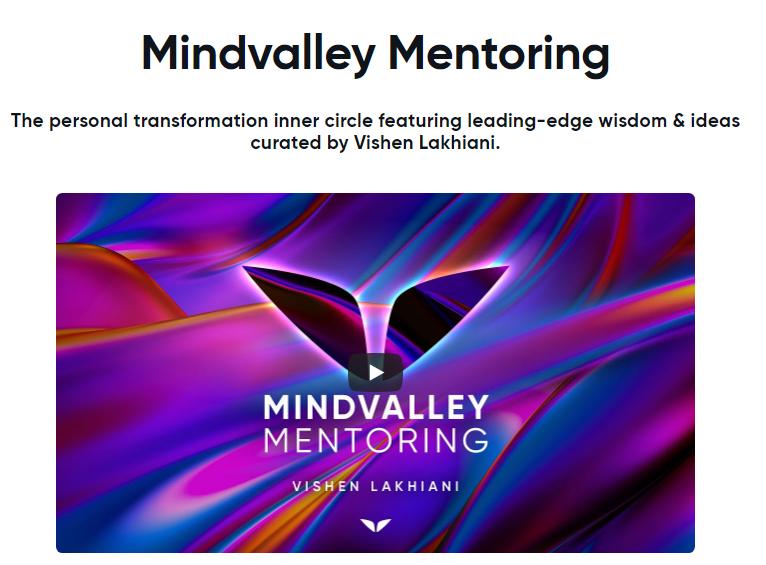 Mindvalley Mentoring