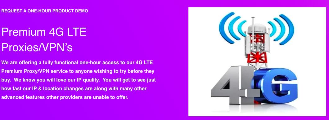 ProxyGuys 4G LTE Proxies