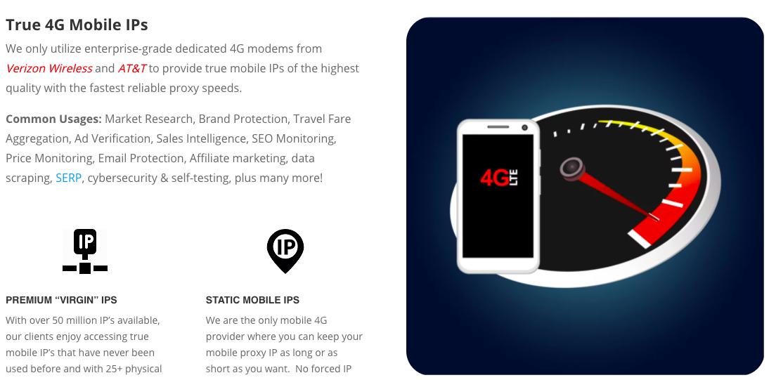 ProxyGuys 4G Mobile IPs