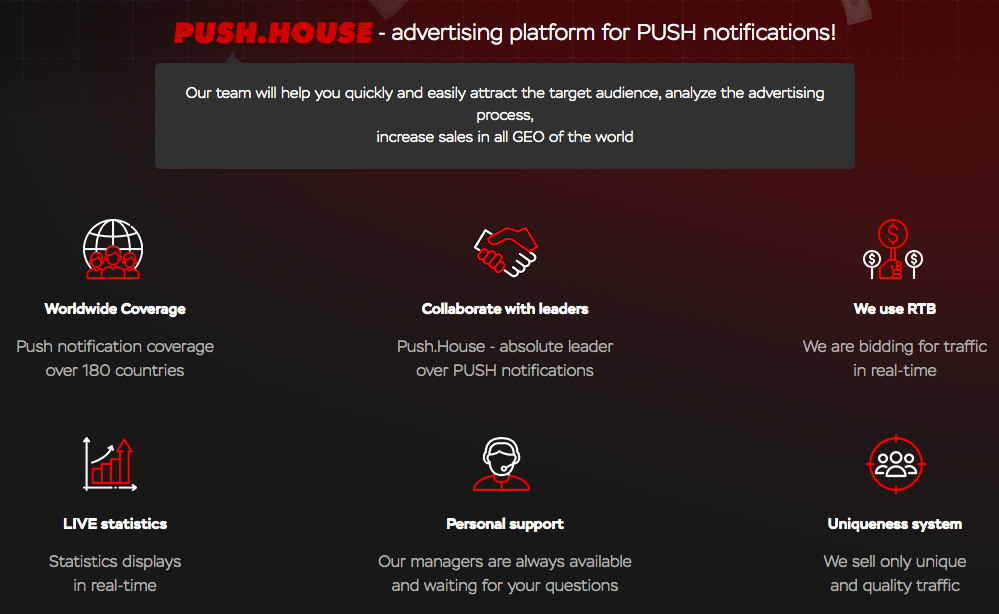 Push House Features
