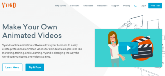 Vyond Create Animated Video