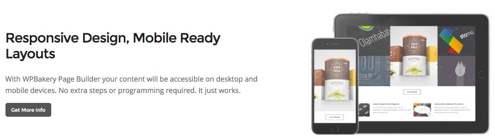 WPBakery Responsive Design