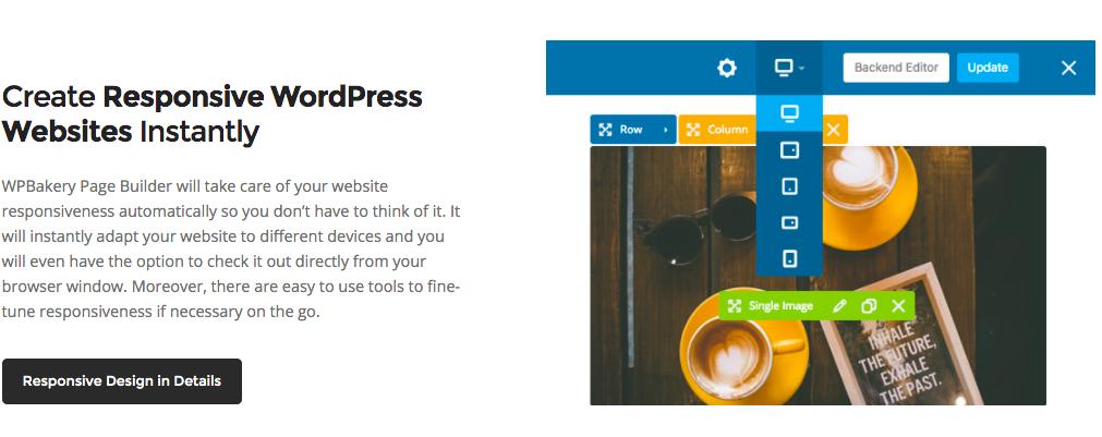 WPBakery Responsive WordPress Websites