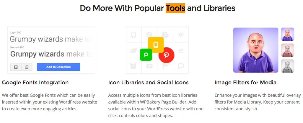 WPBakery Tools & Libraries