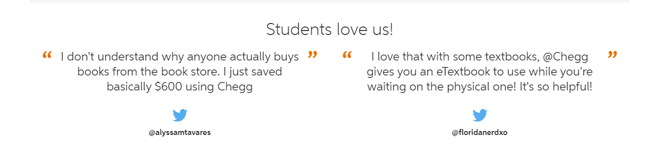 Chegg Students Review