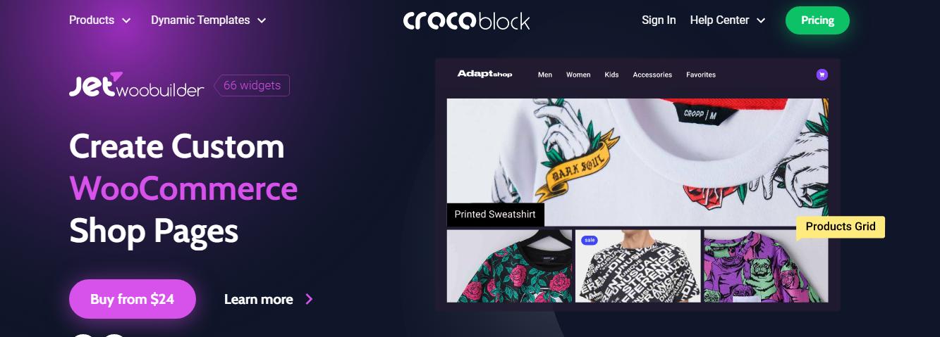 Crocoblock Woobuilder