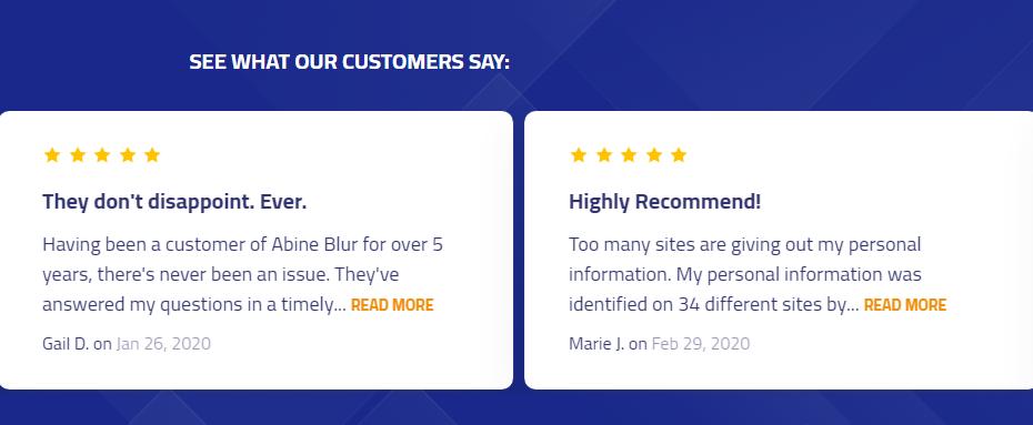 DeleteMe Customer Reviews