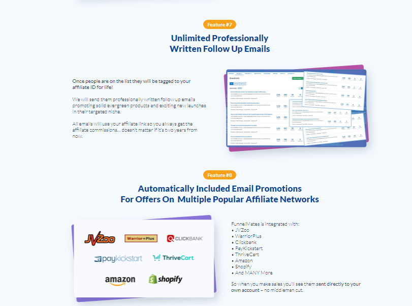 Funnel Mates - Email Writeup and Promotions