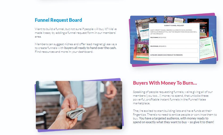 Funnel Mates - Funnel Request Board