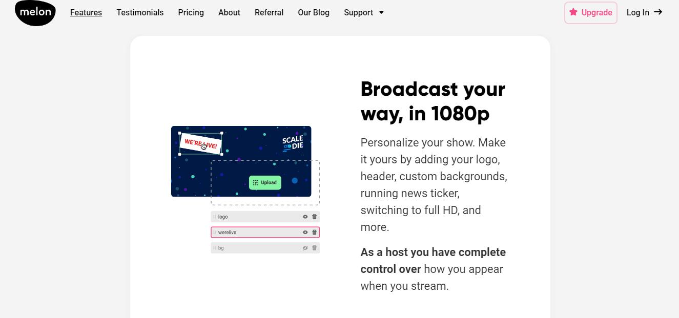 Melon App - Broadcast 1080p
