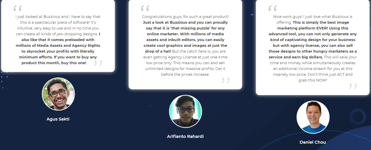 Reviews on Buzzious