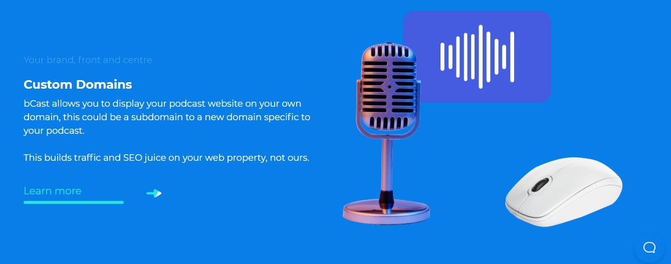 bCast Suite - Custom Domains