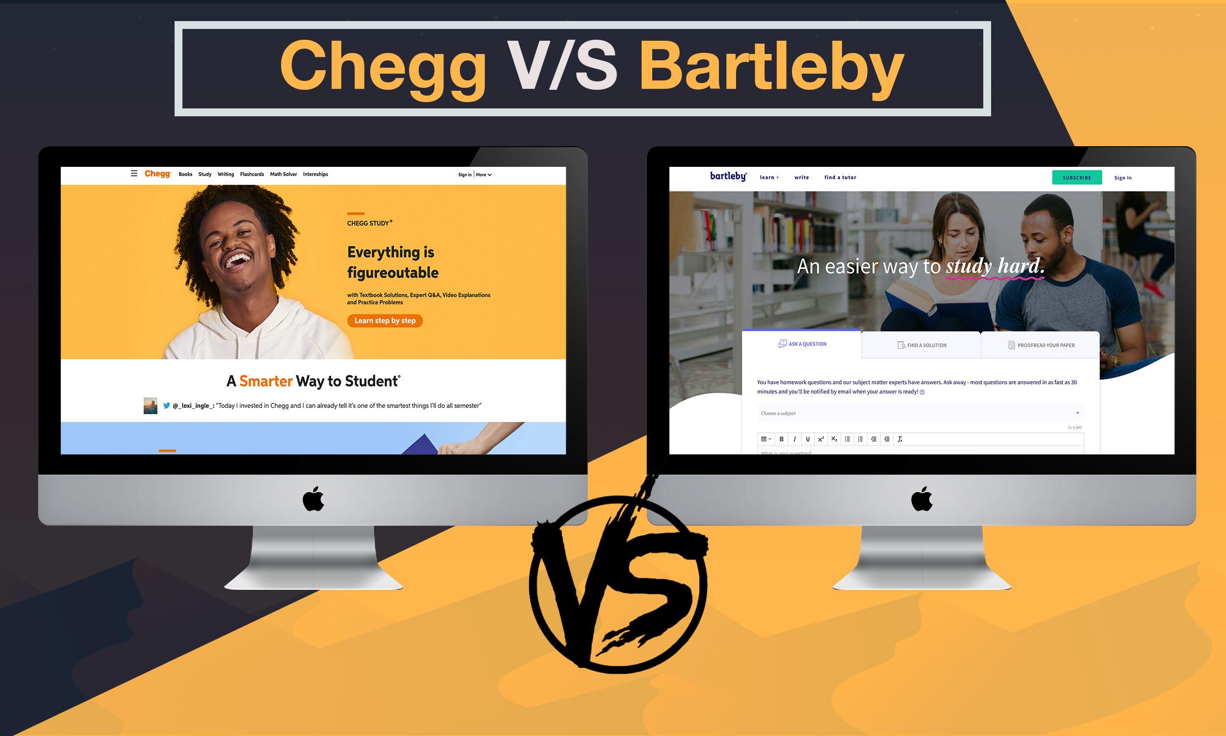 Chegg vs Bartleby: Indepth comparison