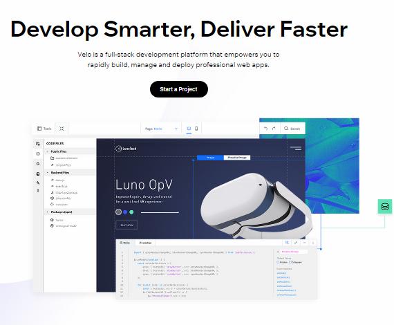 Advanced web development - Wix