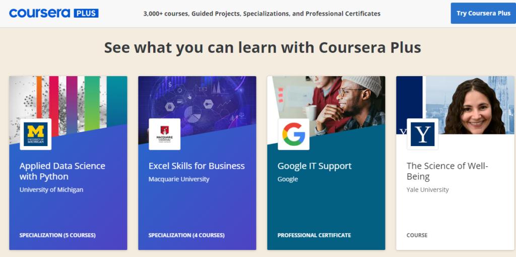 Coursera Plus