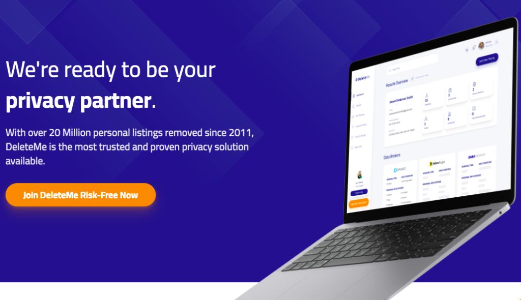 DeleteMe Privacy Partner