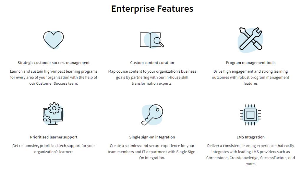 Enterprise Features Coursera