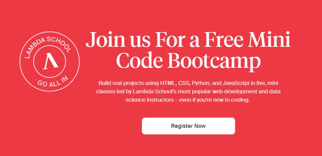 Free mini bootcamp