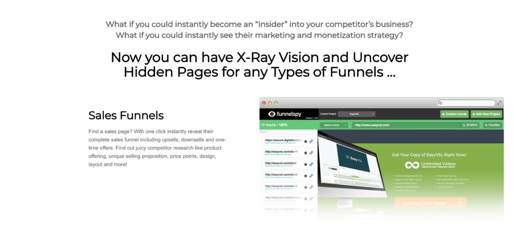 Sales Funnel of FunnelSpy