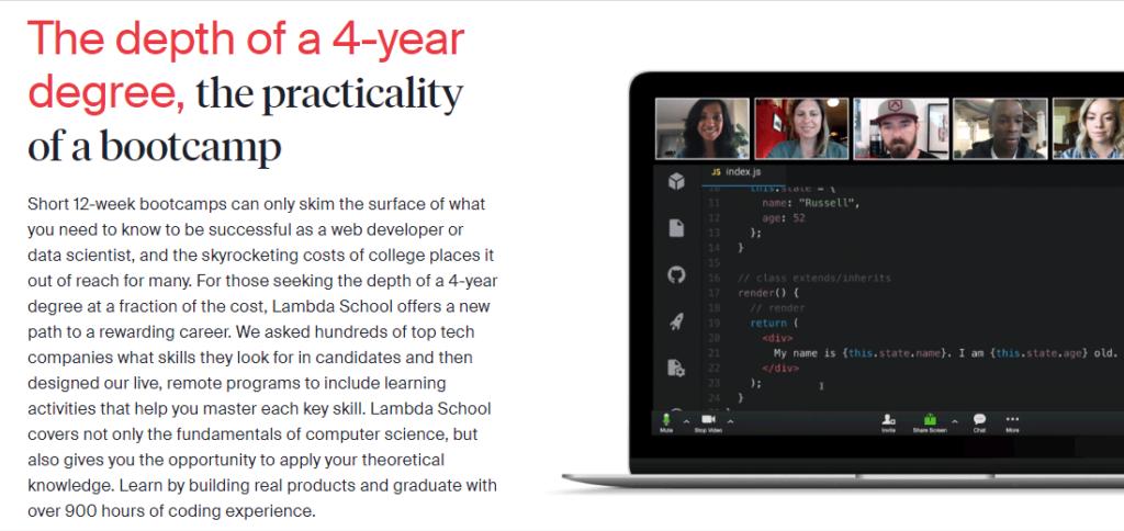 Lambda School 4-year degree